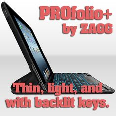ZAGGkeys PROfolio+ for iPad