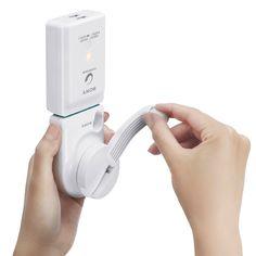 Sony USB-Ladegerät mit Handkurbel