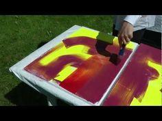 Rakeltechnik von Gerhard Richter