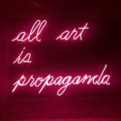 'Thiiiiis is propaganda'