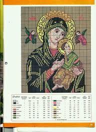 Resultado de imagem para graficos de ponto cruz imagens religiosas