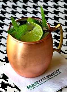 Moscow Mules made with ginger beer are great, but try my version made with real beer! It's definitely a keeper!
