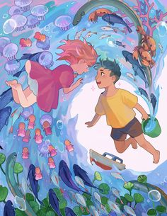 ALMOST AS COOL AS YOU Hayao Miyazaki, Studio Ghibli Art, Studio Ghibli Movies, Totoro, Japanese Animated Movies, Howls Moving Castle, Animation, Tag Art, Animes Wallpapers