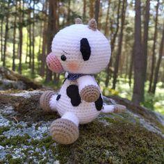 Los mundos de Esthercita: La vaquita de Xana Snoopy, Teddy Bear, Toys, Animals, Fictional Characters, Cow, Tips, Amigurumi, Dressmaking