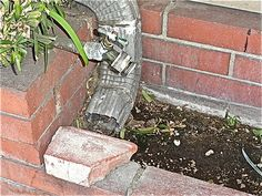 can improperly installed rain gutters cause a leak in your house? Rain Gutter Cleaning, Texture, Canning, House, Surface Finish, Home, Home Canning, Homes, Houses