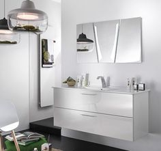 meubles de salle de bains delpha collection unique modle 123 cm - Meuble Delpha Unique Onde