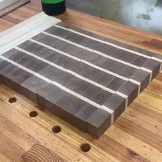 Woodworking Ideas Table, Woodworking Techniques, Woodworking Projects Diy, Woodworking Tools, Woodworking Furniture, Wood Furniture, Small Wooden Projects, Diy Wood Projects, Scrap Wood Crafts