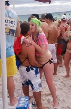 Beach During Spring Break  ---- hilarious jokes funny pictures walmart fails meme humor