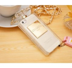Chanel Perfume iPhone 5 5S Case Clear - Free Shipping Luxury Cases