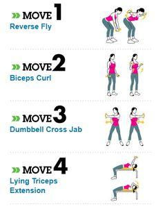 Quick arm workout
