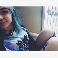Our favourite suicide girl, the beautiful @ramen_suicide got a lovely little package off us, & here she is wearing a galaxy dye 3 Headed wolf tee & matching Galaxy socks  If you want yours, check out www.withoutreason.co.uk  #withoutreasonapparel #streetfashion #streetwear#streetwearbrand #clothing #clothingbrand #clothingline #clothingcompany #suicidegirls #sg #girlswithtattoos #girlswithpiercings #alt #altgirls #altmodel #model #beautiful #indieshop #