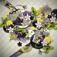 Moonrise Meadow by Jumpstart Designs  template Crazy April steps 1.by Tinci Designs