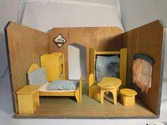 """Waldorf - """"das Schlafzimmer"""" in Winterthur kaufen bei ricardo. Rudolf Steiner, Winterthur, Waldorf Toys, Toddler Bed, Furniture, Home Decor, Antique Toys, Woodworking Toys, Stuttgart"""