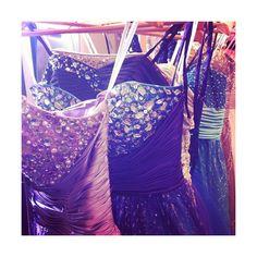 Bejeweled dresses galore at David's Bridal prom...