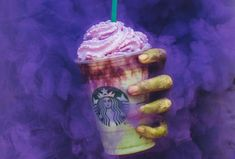 Starbucks Spooktacular Zombie Frappuccino Is Here