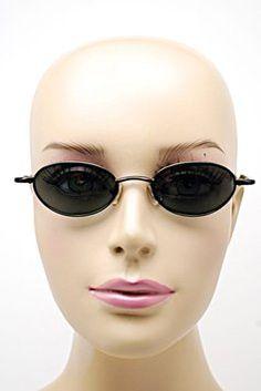 Hiero HIERO Black/Gunmetal Oval Frame Sunglasses w/Black Lens - 130 - SPORTY - Japan
