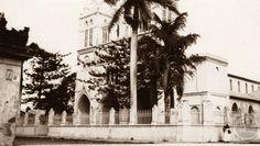 1928, Iglesia El Carmen de Santa Tecla...ubicada sobre el actual Paseo El Carmen...