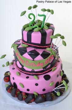 Olive Theme Birhtday cake - B2