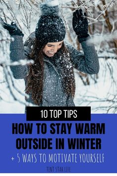 Learn how to stay warm outside to enjoy being out in winter. Plus how to motivate yourself to get outside, even when it's freezing. #winterhacks #winter #coldweather #wintertips #wellnessinwinter #babyitscoldoutside #hiking #outdoor #hikingoutfit #outdoorgear Hiking Outdoor, Outdoor Gear, Hiking Clothes, Winter Hacks, Winter Hiking, Camping Outfits, Hiking Tips, Outdoor Outfit