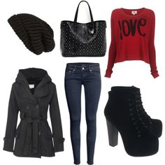 """Winter *-*"" by juli2310 on Polyvore"
