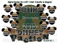 Printable Safari Mouse Heads T-Shirt Transfer Tree of Life Shirt Matching Family Disney Shirts Animal Kingdom Family Shirts DIY Disney Shirt by FrostedMouseMemories on Etsy