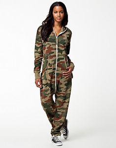 Original Camo OnePiece - OnePiece - Camouflage - Jumpsuit - Clothing - NELLY.COM UK