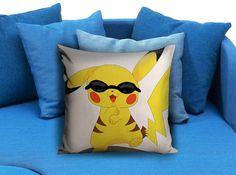gangnam style pikachu pokemon  These soft pillowcase made of 50% cotton, 50% polyester.  It would be perfect to decorate your home by using our super soft pillow cases on sofa, chair, bench or bed.  Customizable pillow case is both comfortable and durable, improving the quality of your sleep with these comfortable pillow case, take it home now!  Custom Zippered Pillow Cases available in 7 different size (16″x16″, 18″x18″, 20″x20″, 16″x24″, 20″x26″, 20″x30″, 20″x36″)