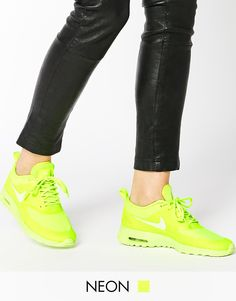 Nike+Air+Max+Thea+Volt+Neon+Trainers 133€
