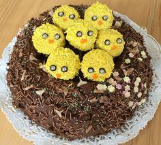 Easter Nest Chocolate Cake recipe by Jane Asher on Poundland.