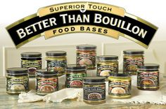 Save on Chicken Base by Better Than Bouillon and other Bouillon and Natural remedies at Lucky Vitamin. Shop online for Food & Snacks, Better Than Bouillon items, health and wellness products at discount prices. Bouillon Recipe, Chicken Base, Ben And Jerrys Ice Cream, Recipe Using, Casserole Dishes, Love Food, Soup Recipes, Gluten Free, Favorite Recipes