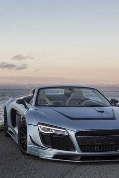 ❤ Best of Audi @ MACHINE... ❤ (Audi R8 Spyder with Attitude)