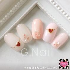 12 Things Every Experienced Nail Artist Would Tell You About – Healthick Crazy Nails, Love Nails, Pretty Nails, Nail Manicure, Gel Nails, Korea Nail Art, Valentine Nail Art, Valentine Box, Valentine Wreath