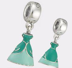 Authentic Pandora Silver Enamel Dangle by TexasConsignmentShop