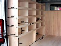 Meuble Bois Amenagement Camionnette Kit Utilitaire Rangement Utilitaire