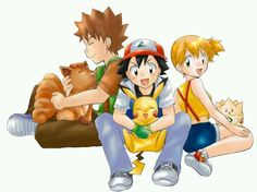 I will never forget about the original team. Why did Brock and Misty leave? :'( I will never attempt to watch the new series...