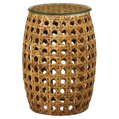 I pinned this Asher Rattan Pedestal from the Bassett event at Joss and Main!