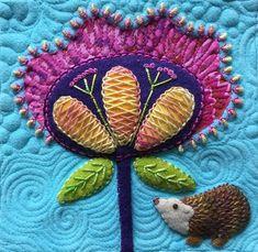 "detail ""Solstice Dream"" Kerry Stitch Designs"
