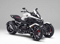 2016 Honda Neo / Gold Wing Trike Motorcycle | Three Wheeler Concept Bike