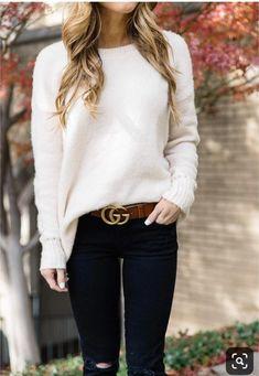 Cute fashion outfits ideas – Fashion, Home decorating Gucci Outfits, Fall Fashion Outfits, Fall Fashion Trends, High Fashion, Cute Outfits, Womens Fashion, Fashion Spring, Fashion Boots, Fashion Edgy