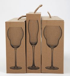 Hello Winelovers!  1 color packagaging on kraft
