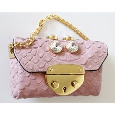 """Pink Cloud"" bag by Ventidue"