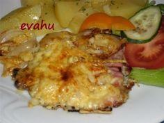 Táborský vepřový řízek Snack Recipes, Cooking Recipes, Snacks, Czech Recipes, Ethnic Recipes, Penne, Baked Potato, Lamb, Seafood
