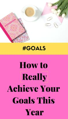 Make this year the best one yet. Here are 3 simple ways to achieve your goals - everything from setting your goals to mastering the plan to achieve them! #goals #newyearsresolutions #newyearnewyou #productivity #girlboss #productivitytips Achieving Goals, Achieve Your Goals, Set Your Goals, Life Advice, Career Advice, Personal Goals, Work Life Balance, Survival Guide, Setting Goals