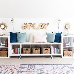 """#OutOfOffice because I'll be doing this  today! Thrilled to be a part of @thewhitebuffalostylingco 's #bloggerstylinhometours """"Work + Play"""" edition and am sharing our office + playroom (again!) today #ontheblog along with some fab ladies: @thedecorfix @adesignerathome @cate_stylemutthome @chelsea_stylemutthome @acreativedayblog head to styleyoursenses.com (direct link in profile) for the full line up!  @liketoknow.it www.liketk.it/2ld4H #liketkit #ltkhome  @laurasumrak"""