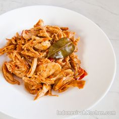 IndonesischKochen.com - Traditionele Kochrezepte: Hähnchen Stückchen (Ayam Suwir Kecap)