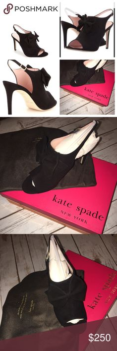 🎀NWT Kate Spade New York Ilyse Dress Sandal Sz 6M 🎀🎀Kate Spade New York Perfectly New Ilyse Dress Black Sandals 6M...only removed from plastic bag one shoe to take a picture...dust bag included in the box...never even put on🎀🎀🎀 kate spade Shoes Heels