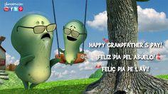 We celebrate Mother's Day, Father's Day, Valentine's Day... And what of our grandparents? They take care, spoil and love us. For that and much more, HAPPY GRANDFATHER´S DAY!  - Glumpers, nice and funny cartoon series for children ----- Celebramos el día de la madre, el día del padre, el día de los enamorados.. ¿Y qué hay de los abuelos? Nos cuidan, nos miman y nos adoran.   Por eso y mucho más…  ¡FELIZ DÍA DEL ABUELO! -- Glumpers, dibujos animados divertidos y bonitos para niños!