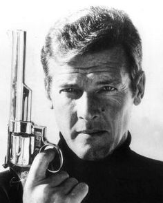 Roger Moore charming James Bond a trully english gentleman