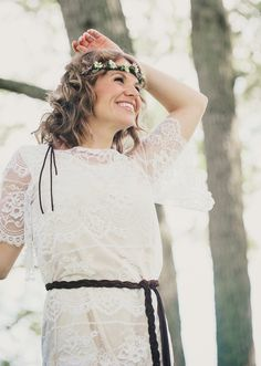 Fashion photography Custom wedding dress, lace, boho chic Dress: RCB Fashion Makeup: Susan Gramling Artistry Model: Brooke Deese McNally  #bohemianwedding #bridaldress