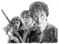 Harry Potter - The second year by janep.deviantart.com on @DeviantArt